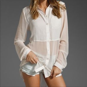 Free People | Ivory Best of Both Worlds Tunic Top